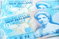 New zealand cash Royalty Free Stock Photography