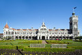 New zealand dunedin railway station in Stock Photos