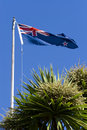 New Zealand Flag Royalty Free Stock Photo