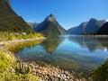 New Zealand, Milford Sound Royalty Free Stock Photo