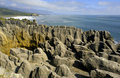 New Zealand - Pancake Rocks - South Island Royalty Free Stock Photography