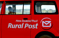New zealand post mangonuie nz mar logo in company outlined a plan to reduce this to three in the wake of falling Royalty Free Stock Photo