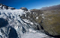 New zealand remarkable mountains s snow cover like a european mountain Royalty Free Stock Image