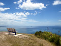 New Zealand Summer Seat Background Royalty Free Stock Photo