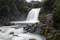 New zealand tawhai falls waterfall at tongariro national park Royalty Free Stock Photography