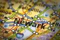 Newark, New Jersey On Map