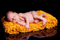 Newborn baby boy Stock Photo