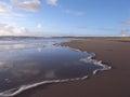 Newborough beach. Stock Photography