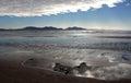 Newborough Beach,  Anglesey, Wales Royalty Free Stock Photo