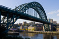 Newcastle and Tyne Bridge Royalty Free Stock Photo