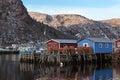 Newfoundland Fishery Royalty Free Stock Photo
