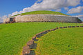 Newgrange prehistoric monument in county meath ireland about one kilometre north river boyne Royalty Free Stock Images