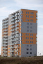 Newly built block of flats Stock Image