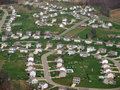 Newly Built Eastern US Suburbia Aerial Stock Images