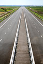 Newly built highway Stock Images