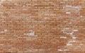 Newly constructed brickwall Royalty Free Stock Photo