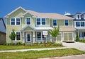 Newly constructed coastal home Stock Image