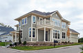 Newly Constructed Luxury Townhouse Royalty Free Stock Photo