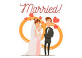 Newly Married Couple Composition