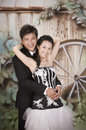 Newly wed couple 13 Royalty Free Stock Photo