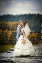 Newlyweds Foto de Stock Royalty Free
