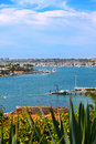Newport Harbor, California Stock Photo