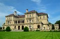 Newport mansion on rhode island Stock Photo