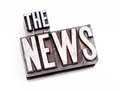 The News Royalty Free Stock Photo