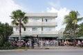 News Cafe Miami Beach Stock Photography