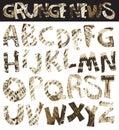 Newspaper font