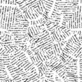Newspaper (seamless vector wallpaper) Royalty Free Stock Image