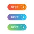 Next Web button set