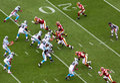 NFL - Blitz! Royalty Free Stock Image