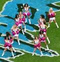 NFL - Cheerleaders! Royalty Free Stock Photo