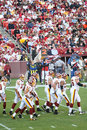 NFL Football: Redskins v. Browns Royalty Free Stock Image