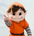 NFL Mascot Brownie the Elf Cleveland Browns Royalty Free Stock Photo