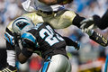 NFL New Orleans Saints Vs Carolina Panthers Stock Photography