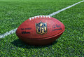 NFL official Ball Royalty Free Stock Photo