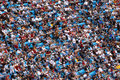 NFL - a sea of colorful fans Royalty Free Stock Photo
