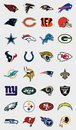 NFL teams logos Royalty Free Stock Photo