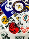 NFL Teams Royalty Free Stock Photo