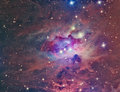 NGC 1973 Running Man Nebula Royalty Free Stock Photo