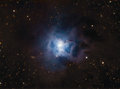 NGC7023 Iris Nebula Royalty Free Stock Photography