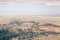 Ngorongoro crater entrance gate to tanzania Stock Images