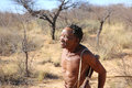 Nharo bushman san near gobabis in namibia africa Stock Photo