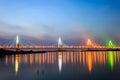 Nhat tan bridge at Hanoi, Vietnam Royalty Free Stock Photo