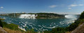 Niagara Fall Panoramic View Royalty Free Stock Photos
