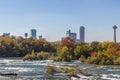 Niagara Falls In Autumn, USA