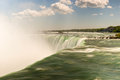 Niagara falls horseshoe in ontario canada Royalty Free Stock Photos