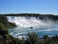 Niagara falls scenic view from Royalty Free Stock Image